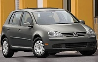 2009 Volkswagen Rabbit, Front Right Quarter View, manufacturer, exterior