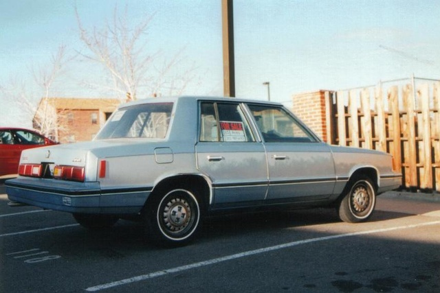 Picture of 1983 Dodge Aries, exterior, gallery_worthy
