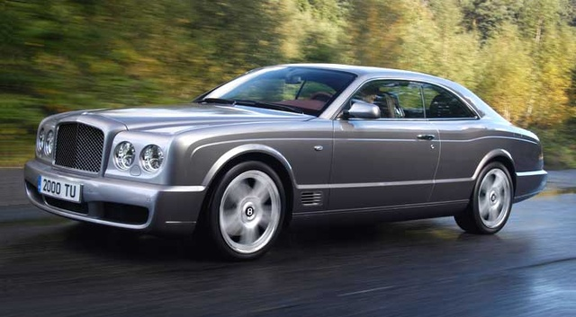 2009 Bentley Brooklands, Left Front Quarter View, exterior, manufacturer