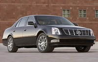 2009 Cadillac DTS Performance, Right Front Quarter View, exterior, manufacturer