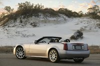 2009 Cadillac XLR-V, Back Left Quarter View, exterior, manufacturer