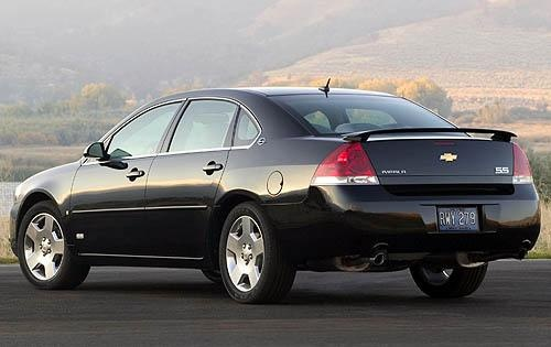 2009 Chevrolet Impala SS, Back Left Quarter View, exterior, manufacturer