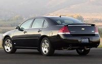 2009 Chevrolet Impala SS, Back Left Quarter View, manufacturer, exterior