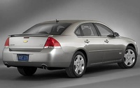 2009 Chevrolet Impala SS, Back Right Quarter View, manufacturer, exterior