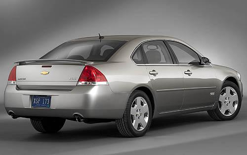 2009 Chevrolet Impala SS, Back Right Quarter View, exterior, manufacturer