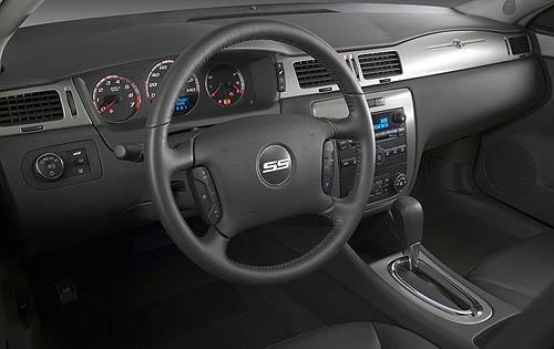 2009 Chevrolet Impala SS, Interior Dashboard View, interior, manufacturer