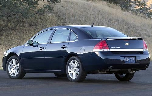 2009 Chevrolet Impala LTZ, Back Left Quarter View, exterior, manufacturer, gallery_worthy