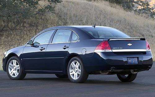2009 Chevrolet Impala LTZ, Back Left Quarter View, manufacturer, exterior