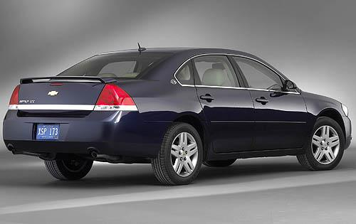 2009 Chevrolet Impala LTZ, Back Right Quarter View, manufacturer, exterior