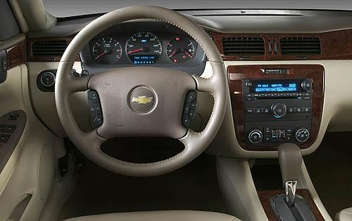 2009 Chevrolet Impala LTZ, Interior Dash View, interior, manufacturer