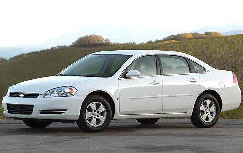 2009 Chevrolet Impala LT, Left Side View, manufacturer, exterior