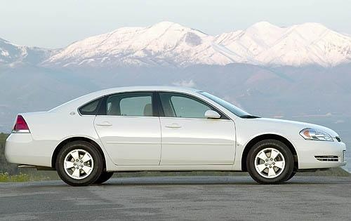 2009 Chevrolet Impala LT, Right Side View, exterior, manufacturer, gallery_worthy