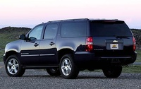 2009 Chevrolet Suburban, Back Left Quarter View, exterior, manufacturer