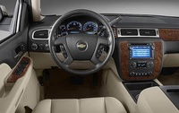 2009 Chevrolet Suburban, Interior Dashboard View, interior, manufacturer