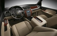2009 Chevrolet Suburban, Interior Front View, manufacturer, interior