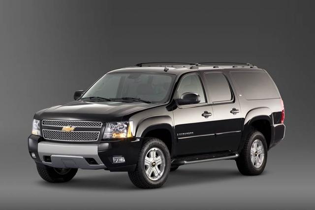 2009 Chevrolet Suburban, Front Left Quarter View, exterior, manufacturer