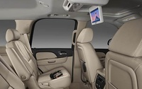 2009 Chevrolet Suburban, Back Seat Interior View, manufacturer, interior