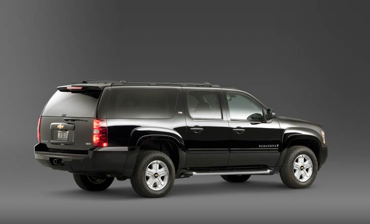 2009 Chevrolet Suburban, Right Side View, exterior, manufacturer