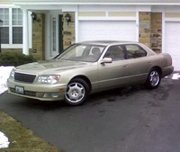 2000 Lexus LS 400 Base, 2000 Lexus LS 400 4 Dr STD Sedan picture, exterior