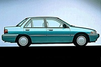 1993 Mercury Tracer Overview