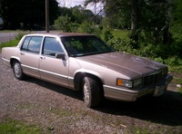 1992 Cadillac DeVille Base Sedan, 1992 Cadillac DeVille 4 Dr STD Sedan picture, exterior