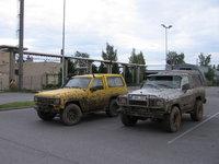 1984 Nissan Patrol, 2 1984 Patrols, exterior