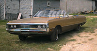 Last picture of my 1969 Chrysler Newport before selling it., exterior