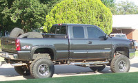 Picture of 2008 Chevrolet Silverado 3500HD LTZ Ext. Cab DRW 4WD, exterior, gallery_worthy