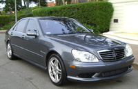 2001 Mercedes-Benz S-Class 4 Dr S55 AMG Sedan, 2006 Mercedes-Benz S55 AMG picture, exterior