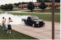 1999 Chevrolet S-10 2 Dr LS Xtreme Standard Cab SB picture, exterior