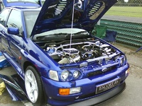1998 Ford Escort picture, exterior, engine
