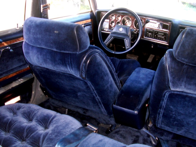 1985 Chrysler Fifth Avenue, 1985 5th Avenue, interior, gallery_worthy