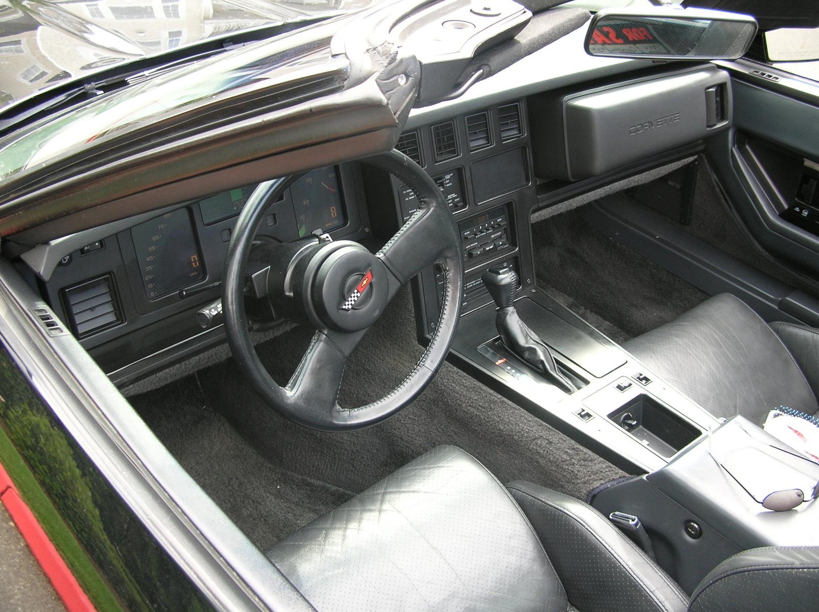 1984 Chevrolet Corvette Interior Pictures Cargurus