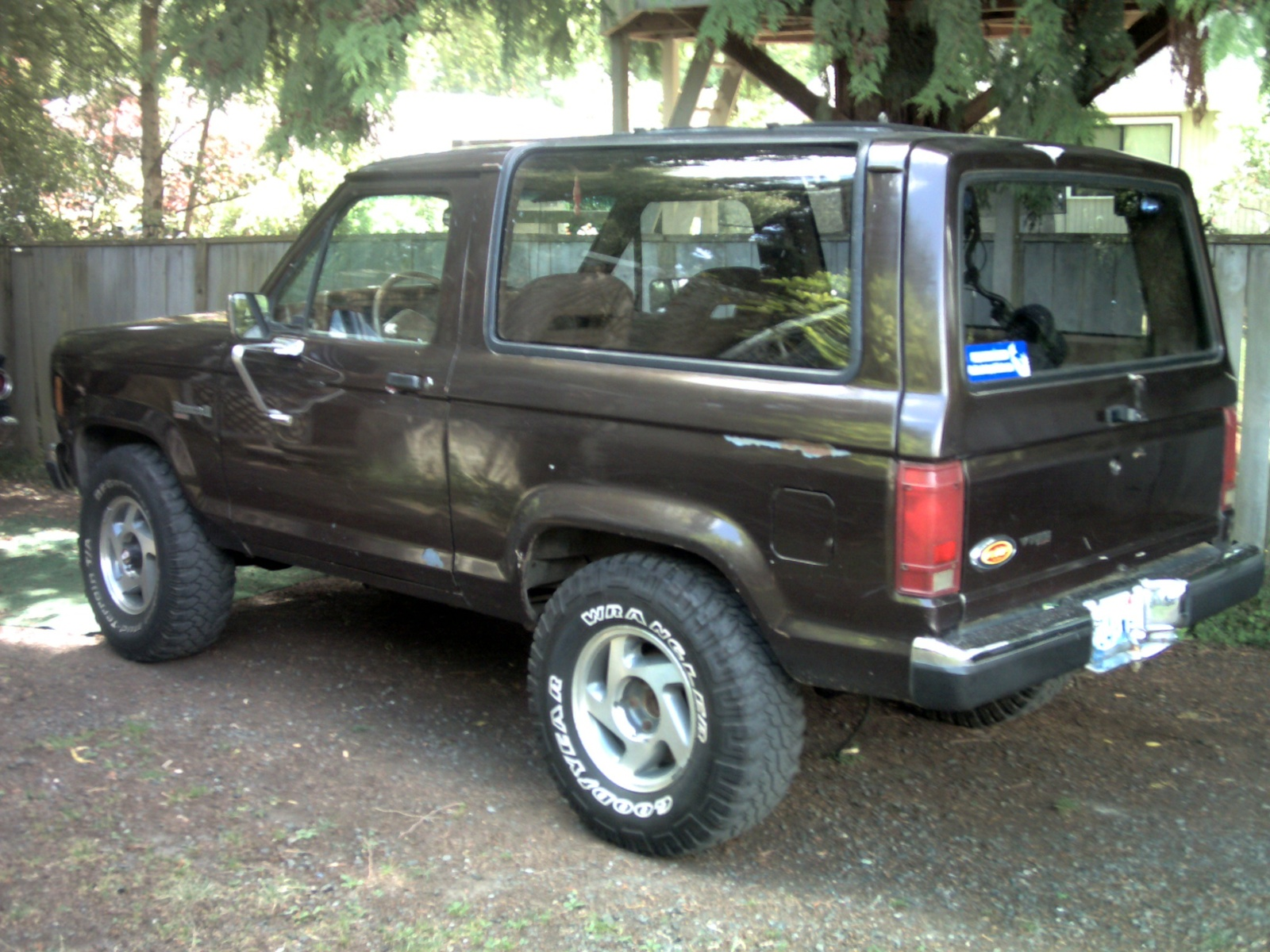 Ford Bronco Rotor Replacement