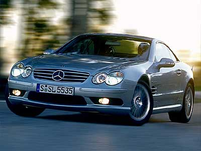 2003 Mercedes-Benz SL-Class SL55 AMG, 2007 Mercedes-Benz SL55 AMG