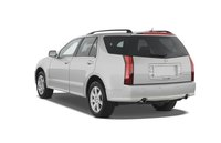 2009 Cadillac SRX, Back Left Quarter View, exterior, manufacturer