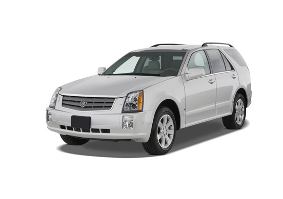 2006 Cadillac SRX, Front Left Quarter View, exterior, manufacturer