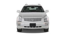 2009 Cadillac SRX, Front View, exterior, manufacturer