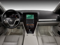 2009 Cadillac STS-V, Interior Front View, interior, manufacturer