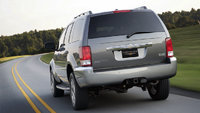 2009 Chrysler Aspen Hybrid Limited 4WD, Back View, exterior, manufacturer, gallery_worthy