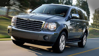 2009 Chrysler Aspen Hybrid Limited 4WD, Front Left Side View, manufacturer, exterior