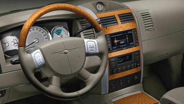 2009 Chrysler Aspen Hybrid Limited 4WD, Interior Dash View, interior, manufacturer