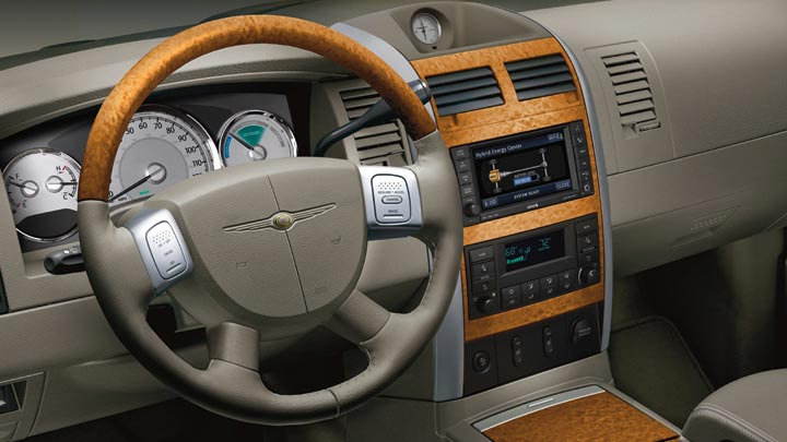 2009 Chrysler Aspen Hybrid Limited 4WD, Interior Dash View, interior, manufacturer