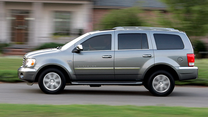 2009 Chrysler Aspen Hybrid Limited 4WD, Left Side View, manufacturer, exterior