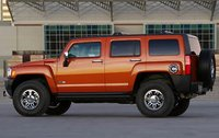 2009 Hummer H3 Alpha, Alpha Left Side View, exterior, manufacturer