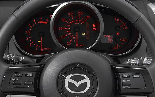 2009 Mazda cx 7 Interior Dash