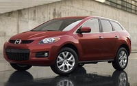 2009 Mazda CX-7, Front Left Quarter View, exterior, manufacturer