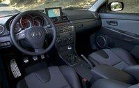 2009 Mazda MAZDASPEED3 Grand Touring, Grand Touring Front Interior View, interior, manufacturer