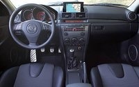 2009 Mazda MAZDASPEED3 Grand Touring, Grand Touring Interior Dashboard View, interior, manufacturer