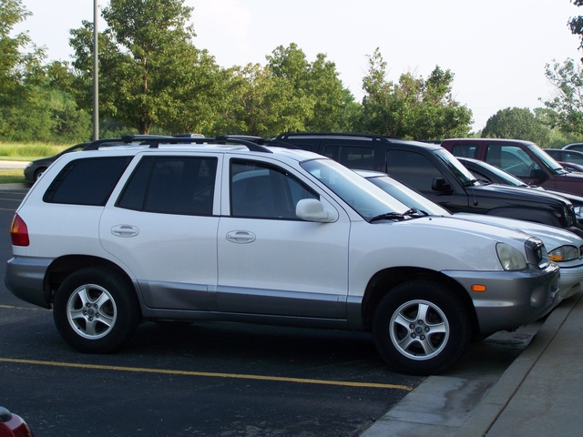 Picture of 2002 Hyundai Santa Fe GLS, exterior, gallery_worthy